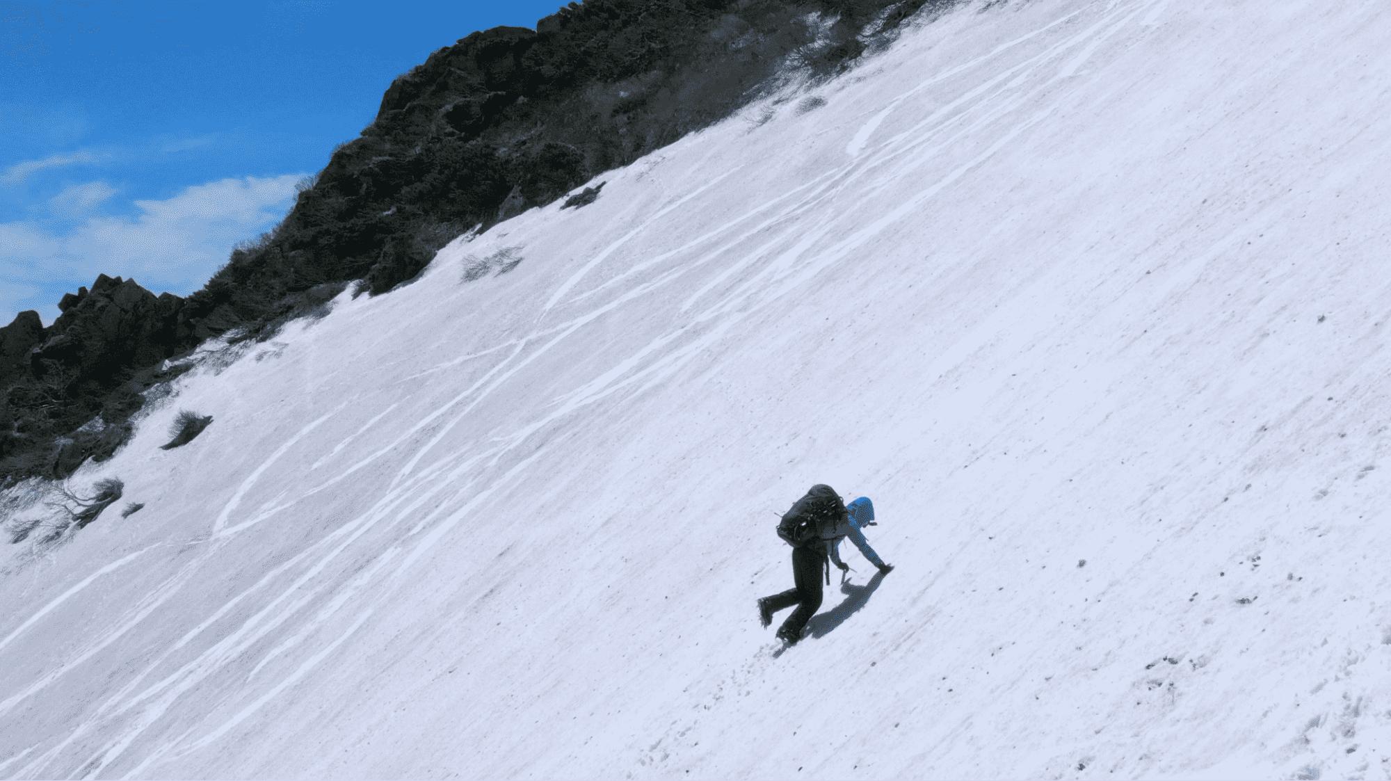 大雪の魅力に魅せられた黒岳登山